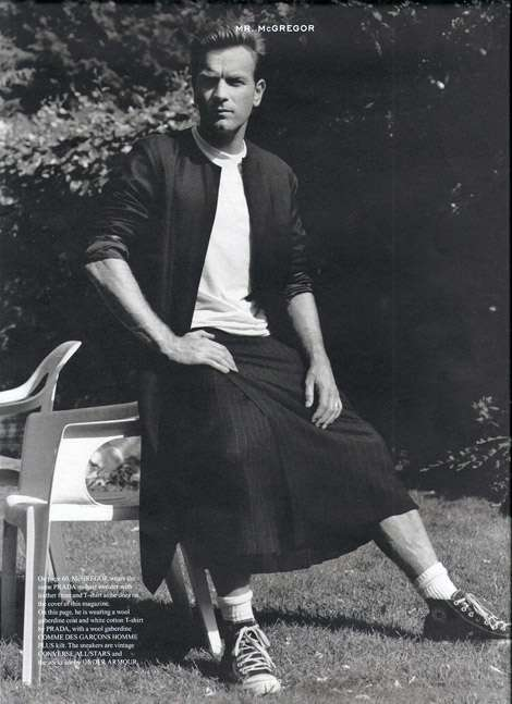 Kilt-Loving Editorials