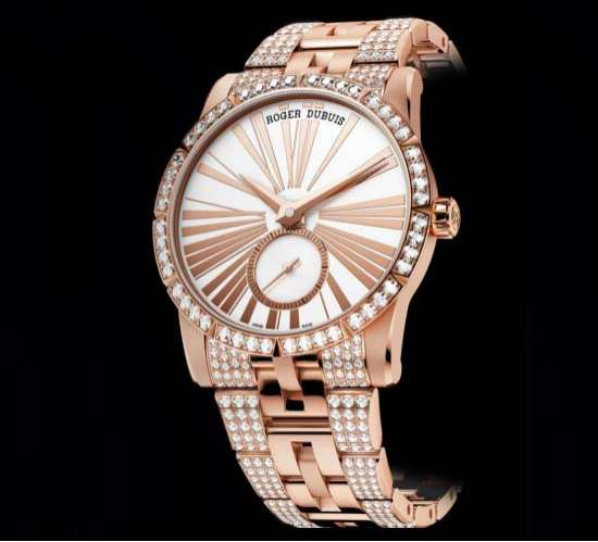 Extravagantly Opulent Timepieces