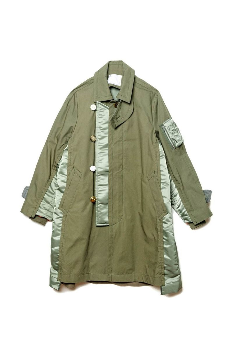 Deconstructed Militaristic Jackets