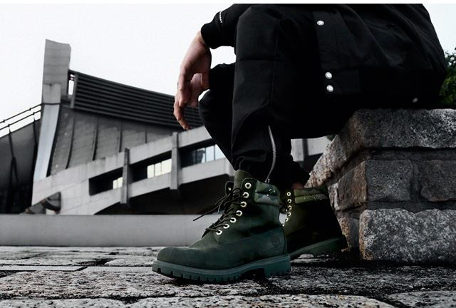 Rugged Olive Work Boots