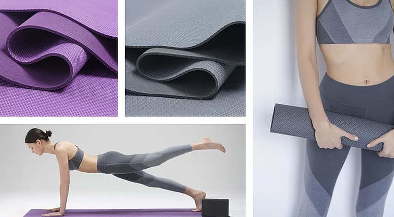 Silver-Infused Antimicrobial Yoga Mats