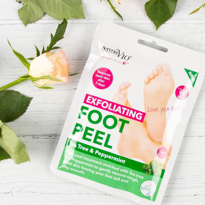 Vegan Peppermint Foot Peels