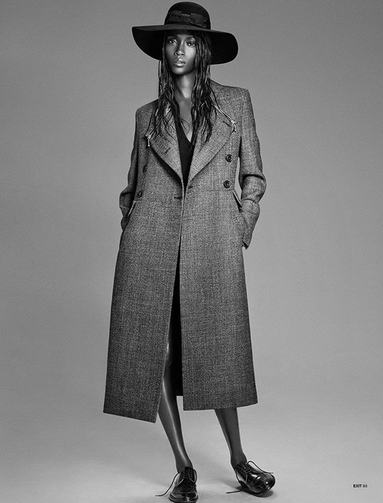 Opulent Outerwear Editorials
