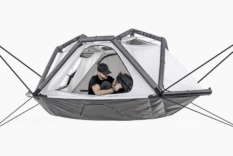 Tubular Exoskeleton Camping Tents