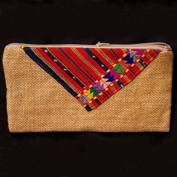 Fair Trade Zipper Clutches