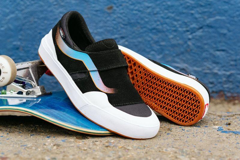 Sturdy Laceless Skateboard Shoes