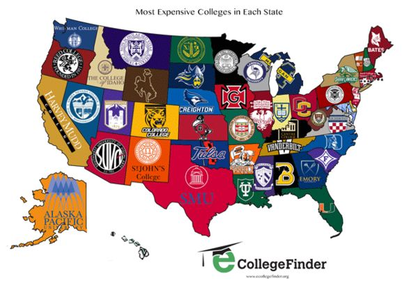 Collegiate Pricing Maps