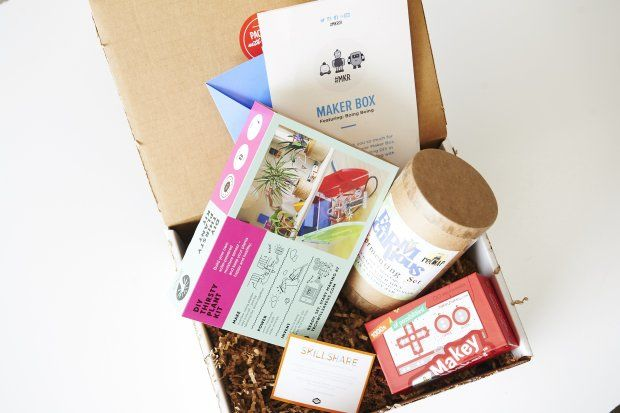 Curated Scientist Subscription Boxes