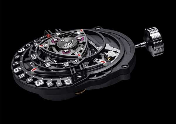 Dual-Triangle Rotor Timepieces