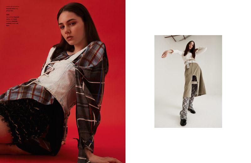 Experimental Streetwear Editorials