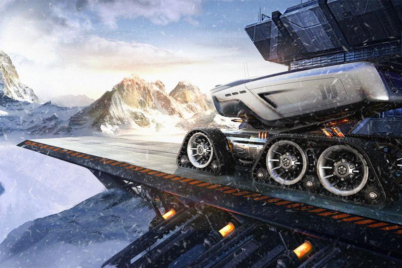 Conceptual Space Exploration Vehicles