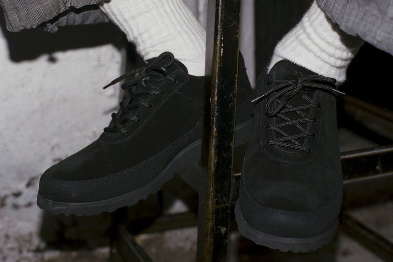 Italian Suede Waterproof Shoes - Engineered Garments and Tarvas Design the Explorer Shoe Model (TrendHunter.com)