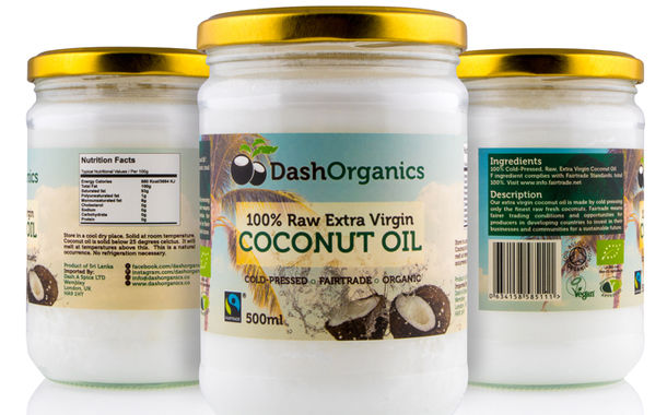 Raw Sustainable Coconut Oils