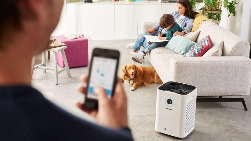 Open-Concept Living Space Purifiers