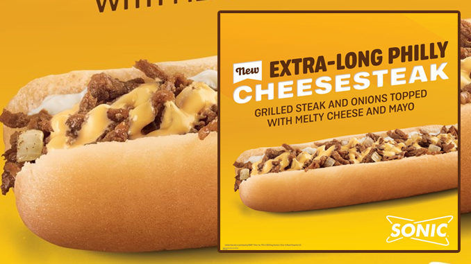 Elongated Philly Cheesesteak Sandwiches