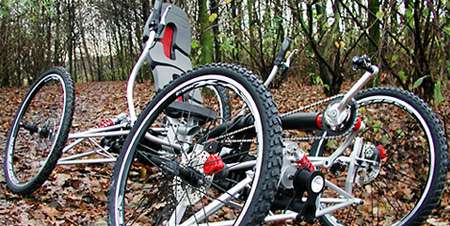 4-Wheeled Off-Road Bicycles