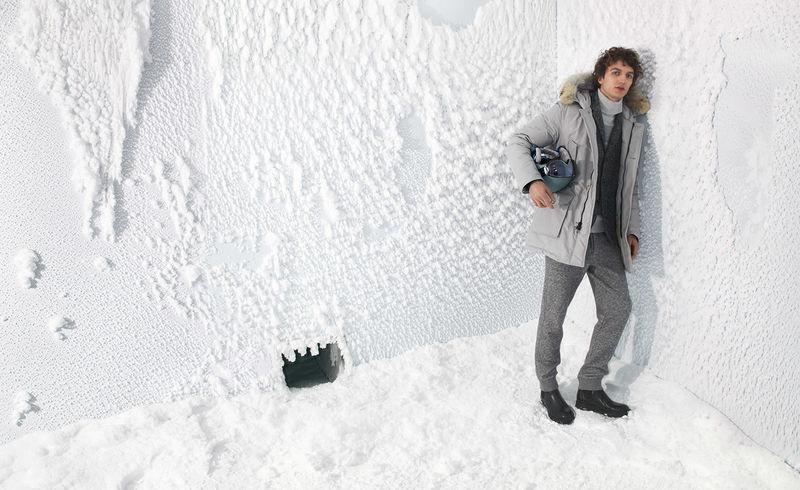 Freezing Parka-Testing Rooms