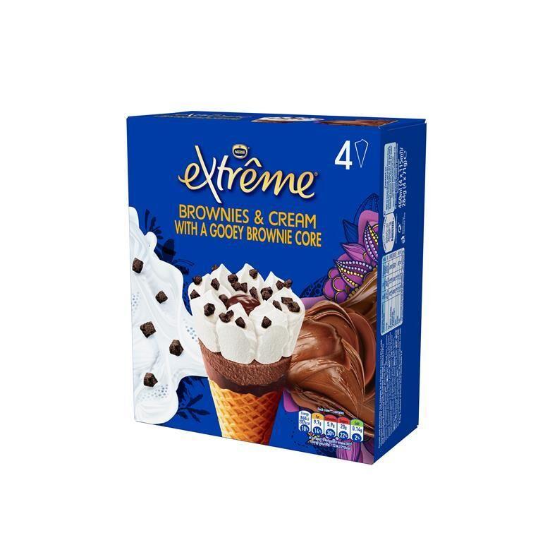 Gooey Brownie Frozen Treats