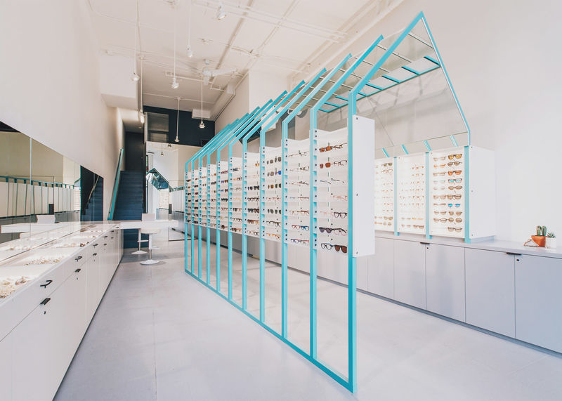 Perception-Bending Eyewear Shops