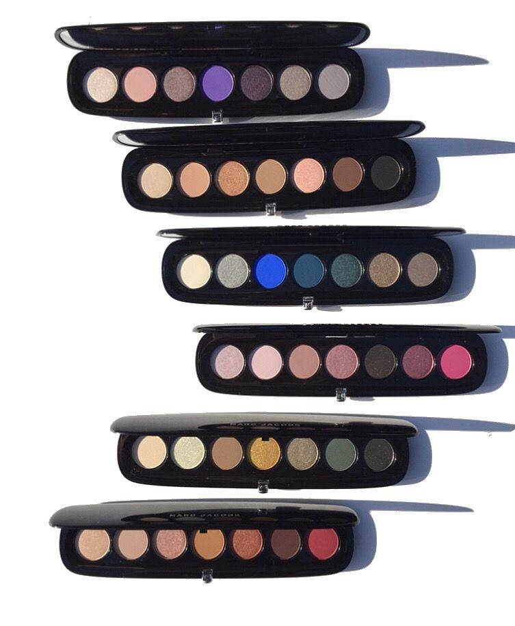 Multi-Finish Eyeshadow Palettes