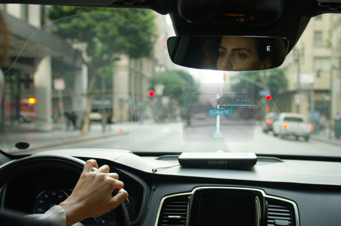 Reflective Connected Windshield Displays