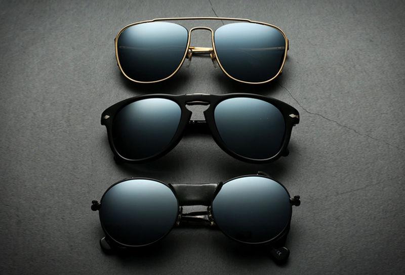 Blackened Lens Sunglasses
