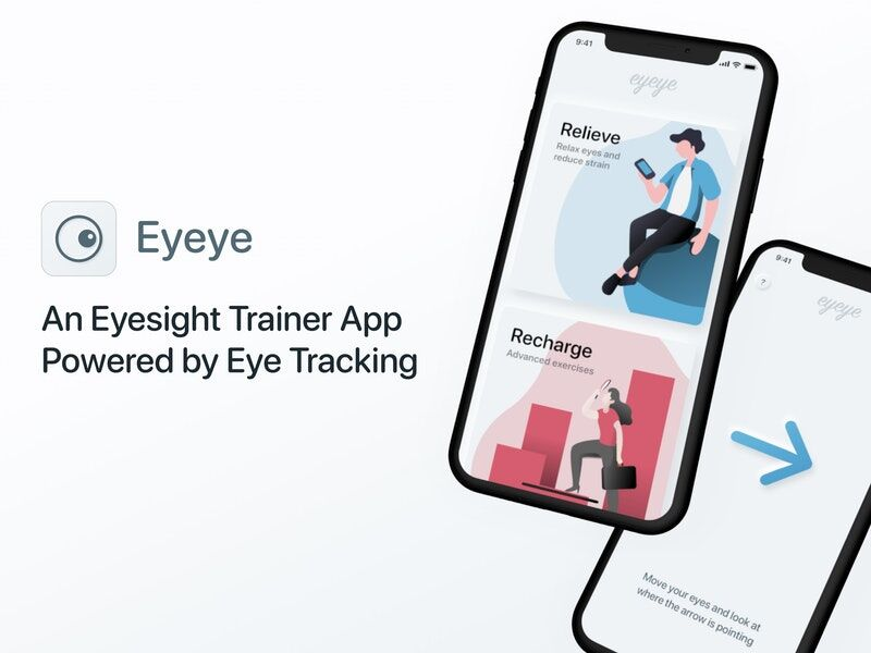 Smartphone-Powered Eyesight Trainers