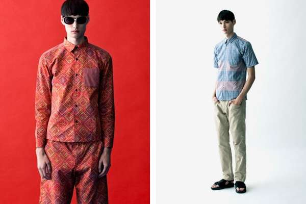 Quirky Colorful Menswear