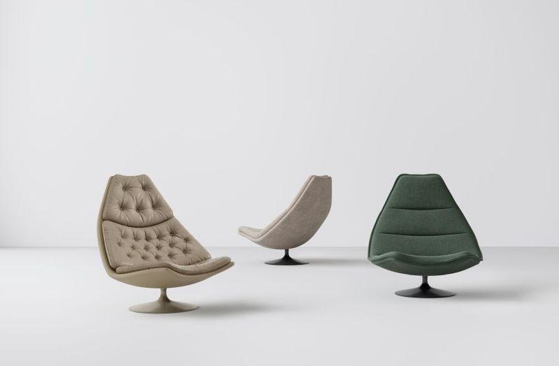 Modernized Mid-Century Seating