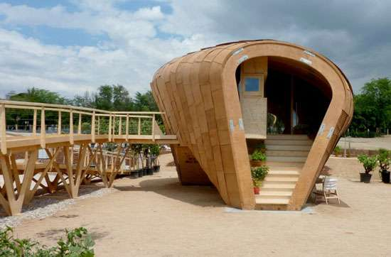 Nutty Eco Homes Fab Lab House