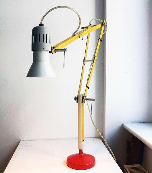 Rad Ruler Lamps