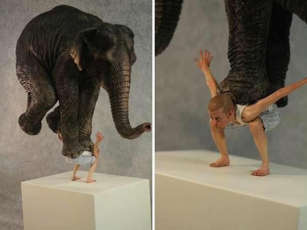 Bold Balancing Sculptures