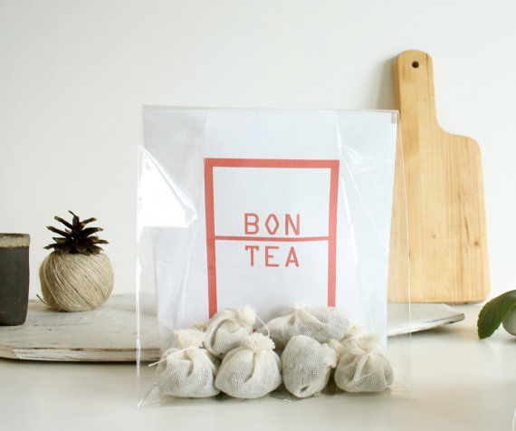 Cotton-Crafted Tea Packaging