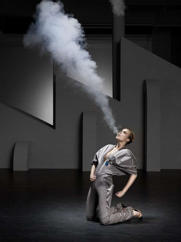 Smoke-Spitting Photoshoots