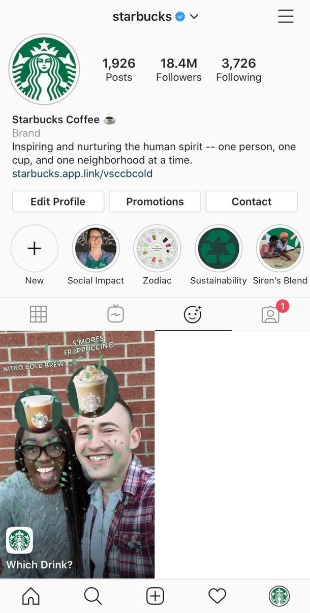 Drink-Matching Social Filters