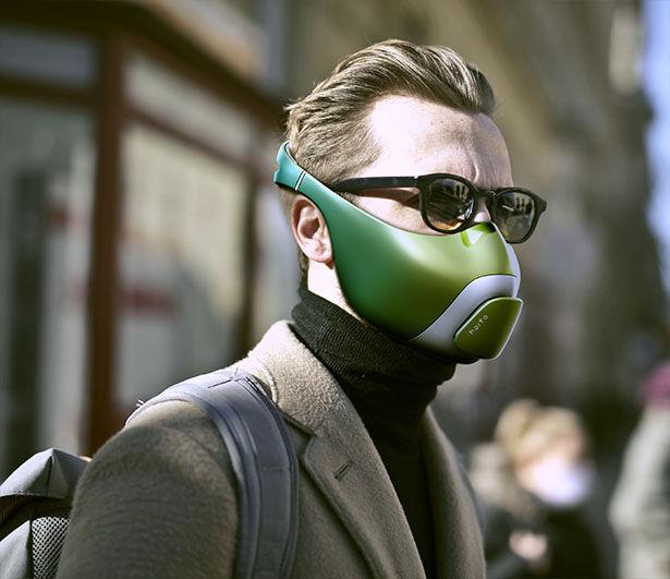 Medicine-Dosing Face Masks