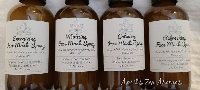 PPE-Specific Face Masks Sprays