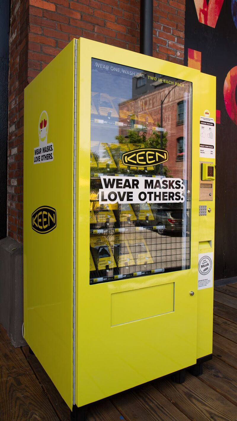 Contactless Mask Vending Machines