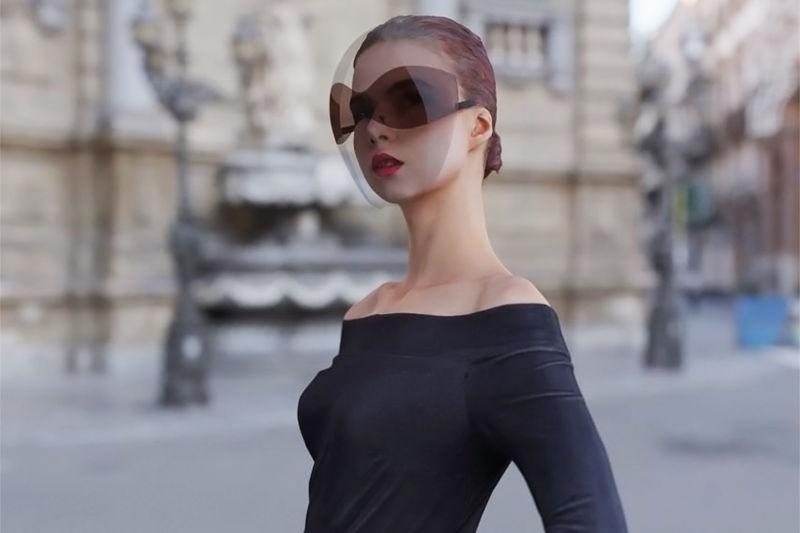 Haute Fashion Face Shields