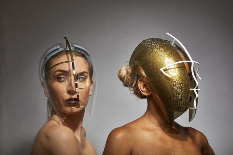 Sculptural Face Shields