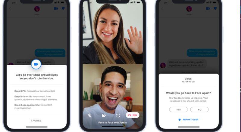 In-App Dating Video Calls