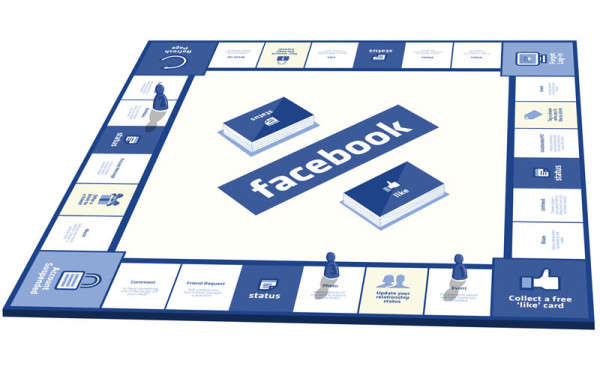 Social Media Board Games