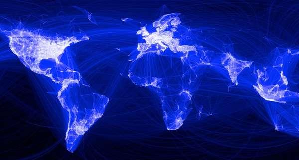 Social Media Friend Maps