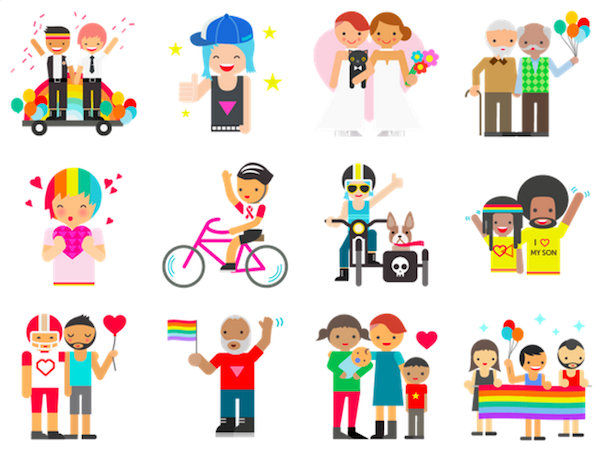 LGBT-Friendly Emoticons