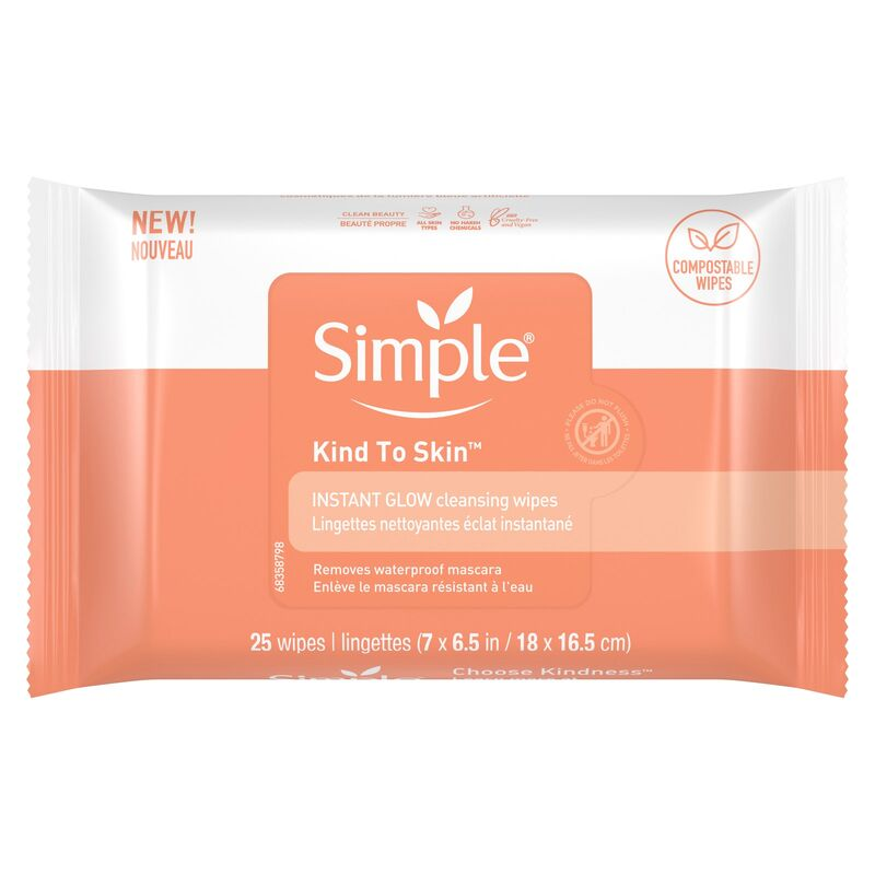 Glow-Boosting Cleansing Wipes