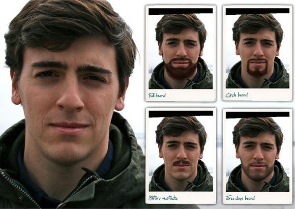 Virtual Facial Hair Apps