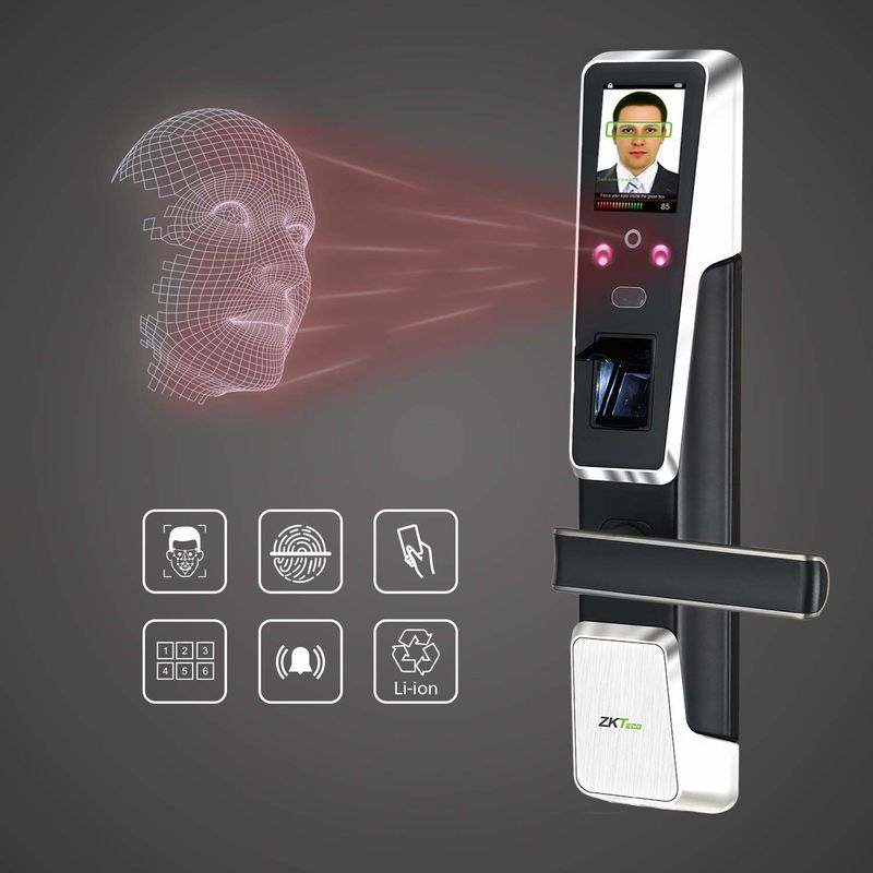 Biometric Home Security Locks Facial Recognition Door Lock