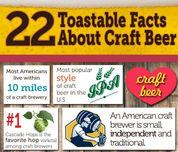 Craft Booze-Centric Infographics