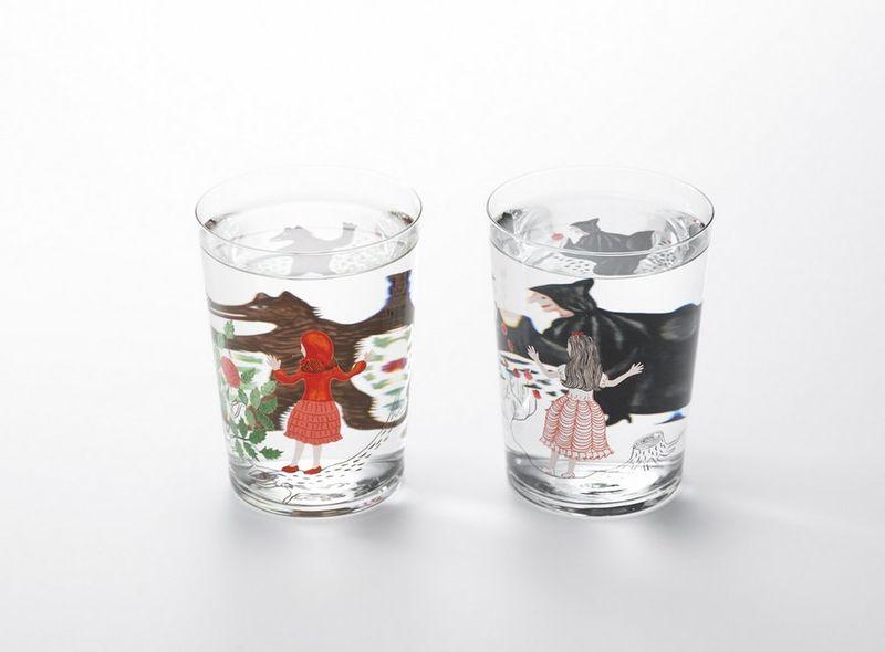Artfully Transformative Glassware