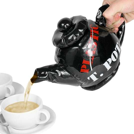 Fake Inflatable Teapots